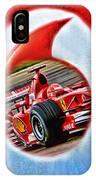 Michael Schumacher Though The Logo IPhone Case