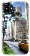 Michigan Avenue Chicago Illinois IPhone Case