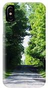 Michigan Country Roads 43 IPhone Case