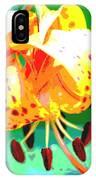 Michigan Lily IPhone Case