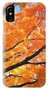 Michigan Sugan Maple IPhone Case