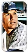 Mickey Mantle IPhone Case