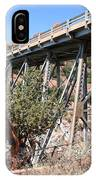 Midgley Bridge And Oak Creek Canyon  IPhone Case