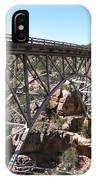 Midgley Bridge Over Oak Creek Canyon IPhone Case
