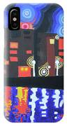 Midnight At Tha Marina IPhone Case