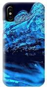 Midnight Blue Sea Shell IPhone Case