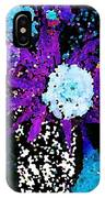 Midnight Callas And Orchids Abstract IPhone Case