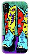 Midnight Cowboy Boots IPhone Case