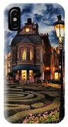 Midnight In The Labyrinth Garden II IPhone Case