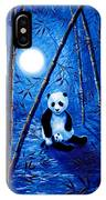 Midnight Lullaby In A Bamboo Forest IPhone Case