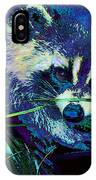 Midnight Racoon IPhone Case