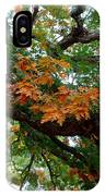 Mighty Fall Oak #1 IPhone Case