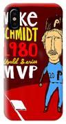 Mike Schmidt Philadelphia Phillies IPhone Case