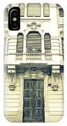 Milan Vintage Building IPhone Case