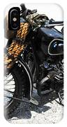 Military Style Bmw Motorcycle IPhone Case