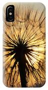 Beauty Of The Dandelion 2 IPhone Case