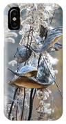 Milkweeds In Autumn IPhone Case
