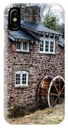 Mill Along The Delaware River In West Trenton IPhone Case