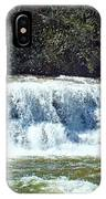 Mill Shoals Waterfall During Flood Stage IPhone Case