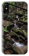 Millcreek Road Waterfall IPhone Case