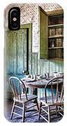 Miller House Kitchen IPhone Case