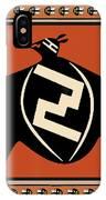 Mimbres Tribal Bat Spirit IPhone Case