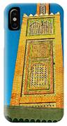 Minaret For Call To Prayer In Tangiers-morocco IPhone Case