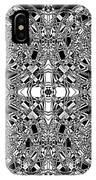 B W Sq 5 IPhone Case