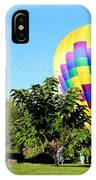 Mind If I Land In Your Backyard 1 IPhone Case