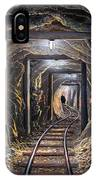 Mine Shaft Mural IPhone Case
