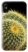Mini Cactus In A Pot IPhone Case