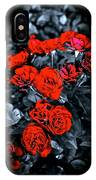 Mini Roses On Walk IPhone Case