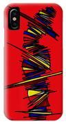 Minimalist 2 Red IPhone Case