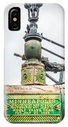 Minneapolis Steam Engine IPhone Case