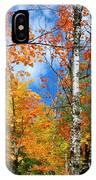 Minnesota Autumn Foliage IPhone Case