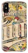 Minnesota Twins Poster Vintage IPhone Case