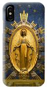 Miraculous Medal Chape IPhone Case