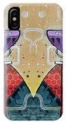Mirrored Aztec Dog IPhone Case