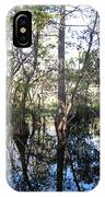 Mirroring The Swamp IPhone Case
