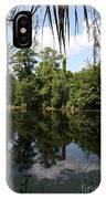 Mirrow Lake - Magnolia Gardens IPhone Case
