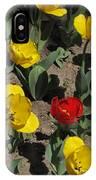 Misplaced Tulip   #0934 IPhone Case