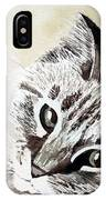 Miss Lilly IPhone Case