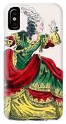 Miss Sainval As Zenobie In Zenobie IPhone Case