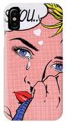 Miss You IPhone Case by MGL Meiklejohn Graphics Licensing
