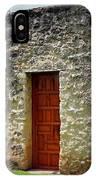 Mission Concepcion - Door IPhone Case