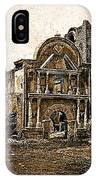 Mission San Jose De Tumacacori Tumacacori Arizona C.1830-2013  IPhone Case