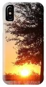 Mississippi Sunset 3 IPhone Case
