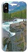 Mistaya Canyon Along Icefield Parkway In Alberta IPhone Case