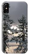 Misty Blue IPhone Case