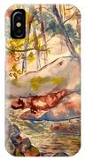 Misty Cascades Day IPhone Case